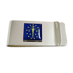 Indiana State Flag Money Clip